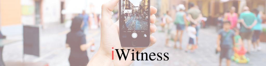 Insider iWitness banner
